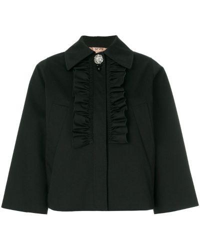 Пиджак с рукавом 3/4 классический свободный N21
