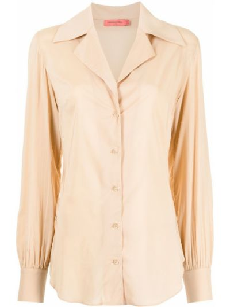 Длинная рубашка - коричневая Manning Cartell