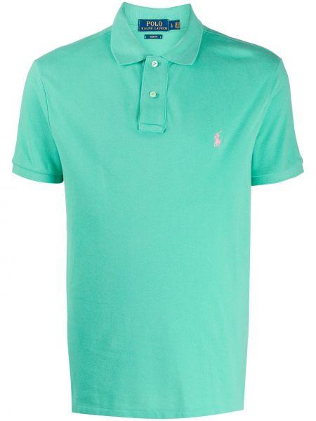 Прямая рубашка с воротником с вышивкой Polo Ralph Lauren