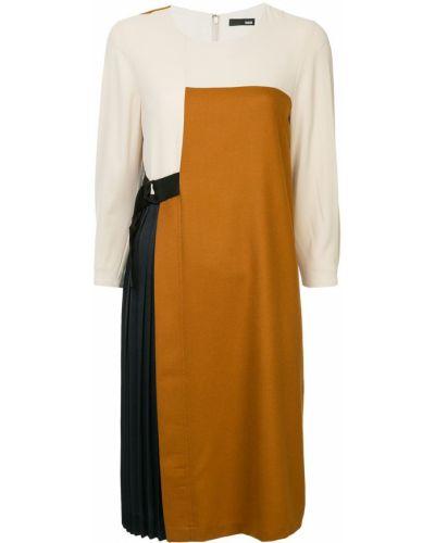 Асимметричное платье мини с вырезом Frei Ea