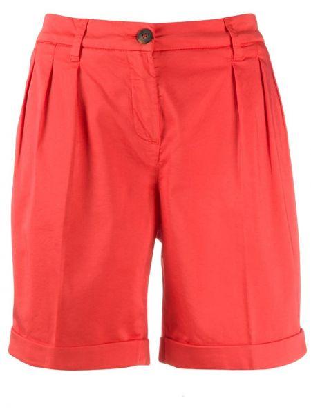 Однобортные шорты с карманами Fay