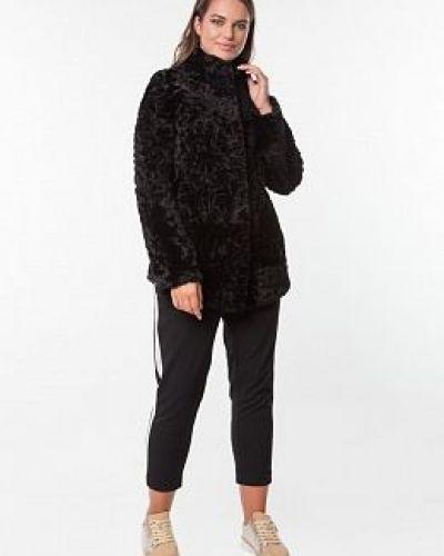 Куртка с мехом - черная Dzhanbekoff