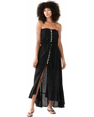 Облегающее текстильное платье макси на шпильке Tiare Hawaii
