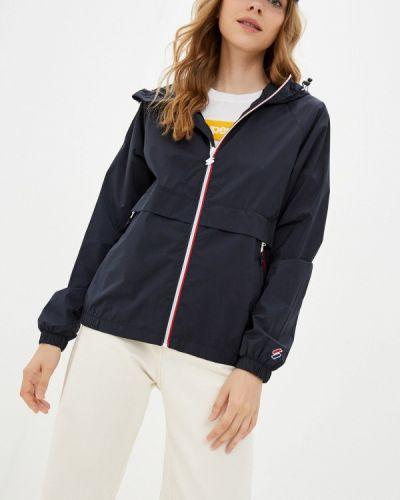 Синяя зимняя куртка Superdry