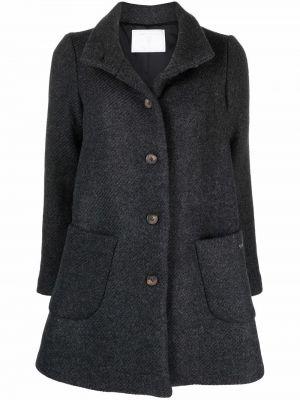 Шерстяное пальто - серое SociÉtÉ Anonyme