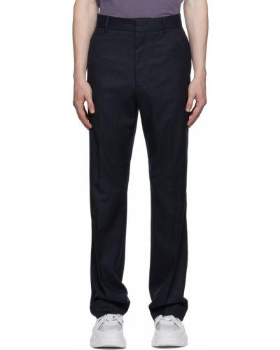 Spodnie z wiskozy - białe Acne Studios