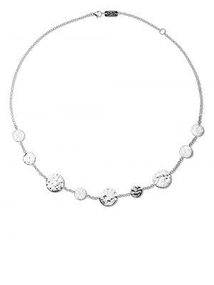 Серебряное ожерелье с декоративной отделкой Ippolita