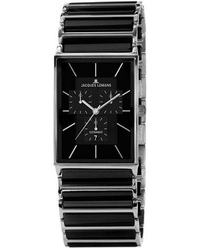 Кварцевые часы керамические австрийские Jacques Lemans