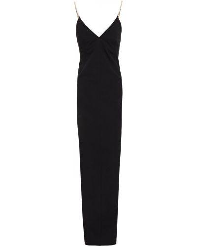 Sukienka bawełniana - czarna Rick Owens