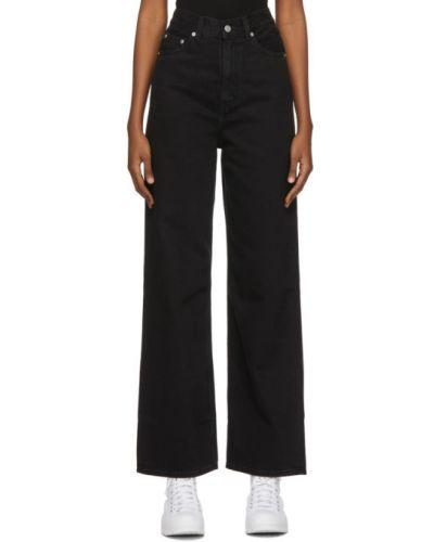 Черные широкие джинсы с карманами свободного кроя Levi's®
