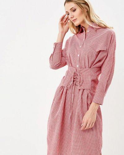 Красное платье Brigitte Bardot