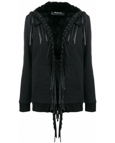 Черная куртка свободного кроя Barbara Bui