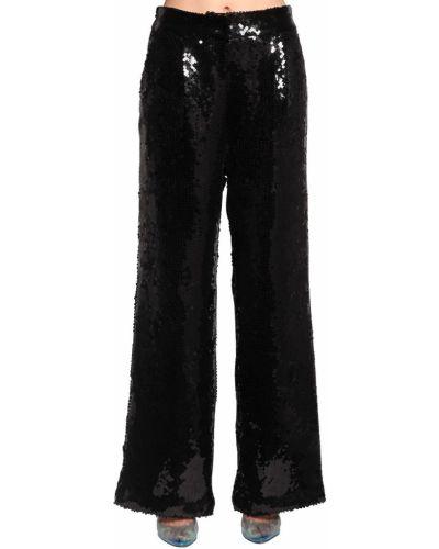 Свободные брюки с пайетками с карманами Filles A Papa