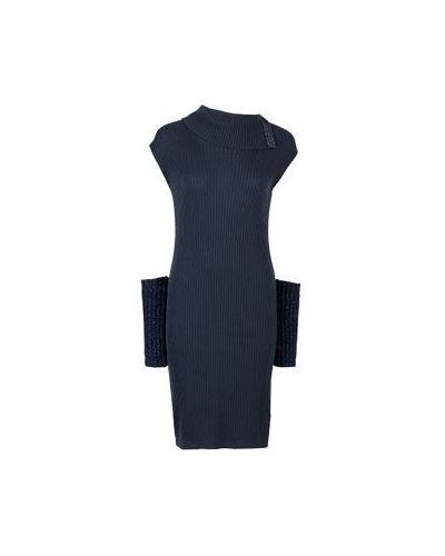 Повседневное платье синее Peserico