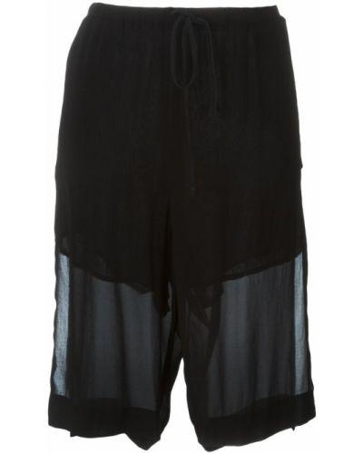Шелковые шорты - черные Lost & Found Ria Dunn