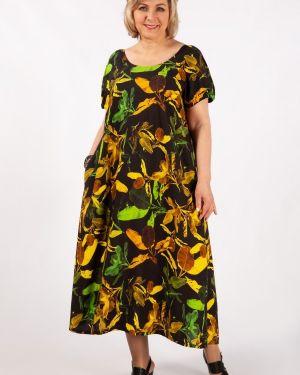Летнее платье макси в стиле бохо милада