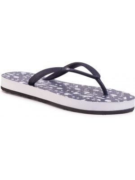 Białe sandały japonki Bogner