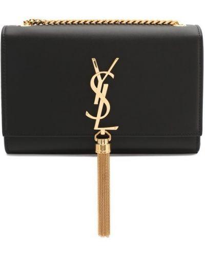 Черная вечерняя сумка Saint Laurent