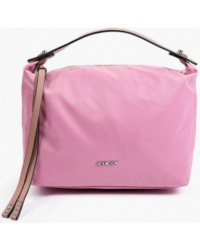 Розовая сумка осенняя Abricot