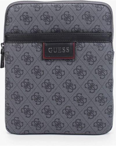 Серая сумка осенняя Guess