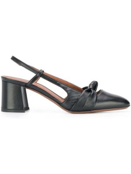 С ремешком черные туфли-лодочки на каблуке L'autre Chose