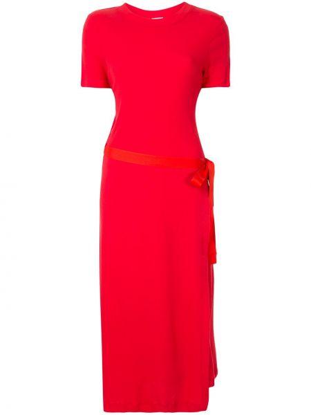 Платье мини миди с запахом Rosetta Getty