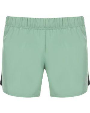 Компрессионные зеленые свободные спортивные шорты свободного кроя Odlo