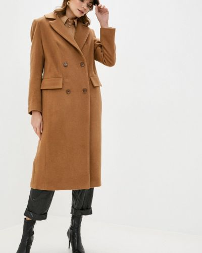 Разноцветное пальто - бежевое Anastasya Barsukova