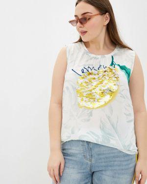 Блузка белая весенний Samoon By Gerry Weber