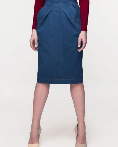 Джинсовая юбка синяя Masha Mart