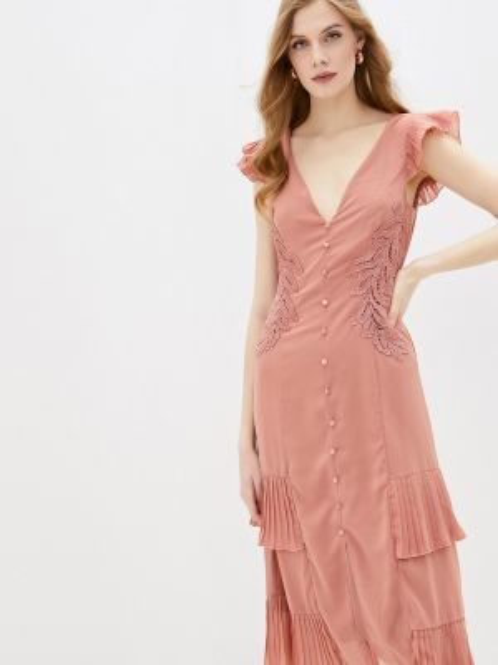 Коралловое платье Little Mistress
