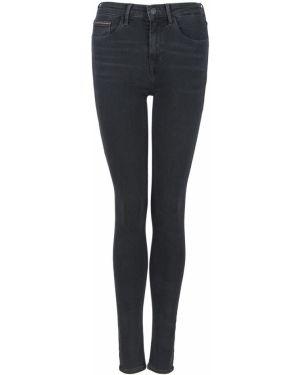 Серые джинсы-скинни с пайетками скинни Tommy Hilfiger