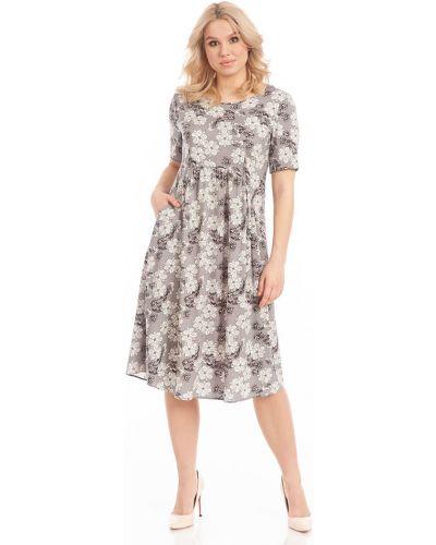 Свободное платье с короткими рукавами свободного кроя Merlis