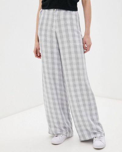Прямые брюки - серые Adzhedo
