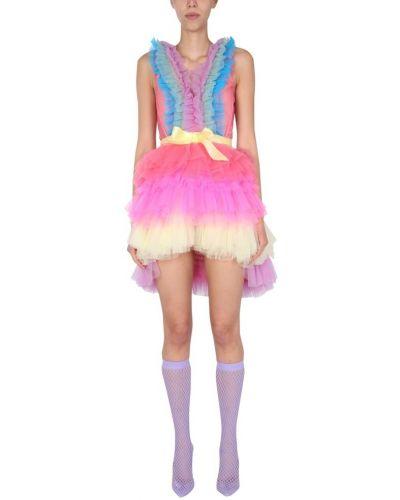 Różowa sukienka mini Teen Idol