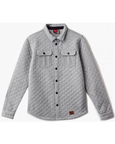 Серая рубашка S.oliver