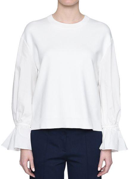 Хлопковая блузка - белая Rene Lezard