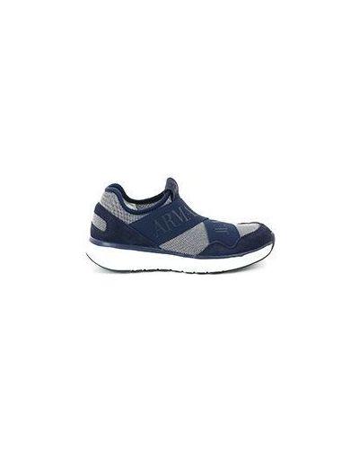 Синие кроссовки Armani Jeans