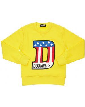 Bluza na szyi z kołnierzem Dsquared2