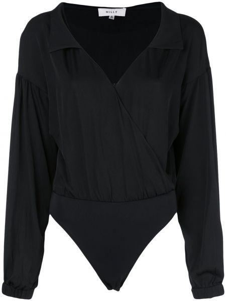 Блузка в полоску с запахом Milly