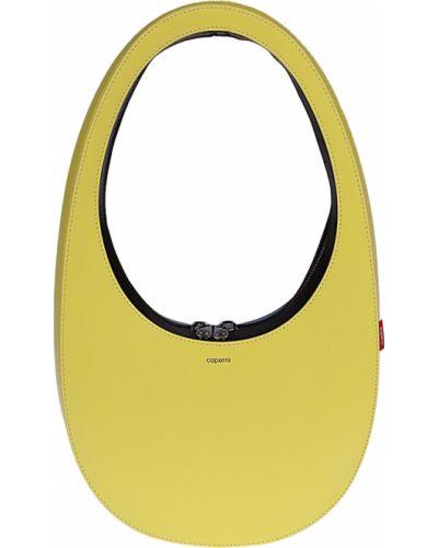 Żółta torebka Coperni