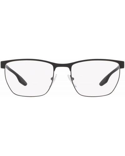 Okulary z printem - białe Prada Linea Rossa