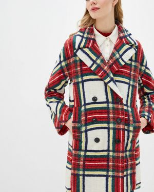 Пальто с капюшоном Desigual