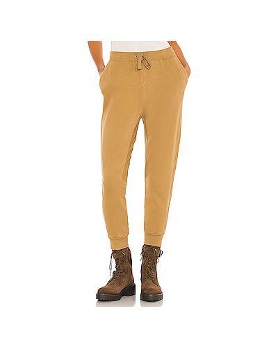 Хлопковые спортивные брюки с карманами с завязками Frame