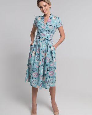 Платье мини миди с запахом Sezoni