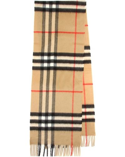 Кашемировый шарф - бежевый Burberry