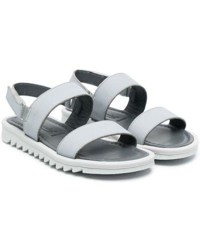 Sandały peep toe Bonpoint