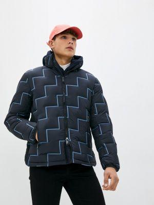 Синяя зимняя куртка Armani Exchange