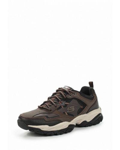 Коричневые треккинговые ботинки Skechers
