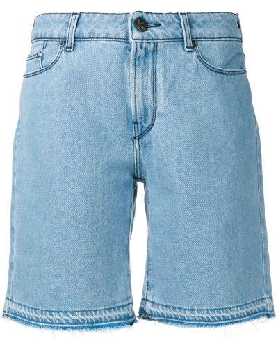 Джинсовые шорты с заниженной талией синий Karl Lagerfeld